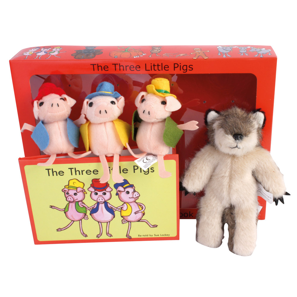 The Three Little Pigs Story Set