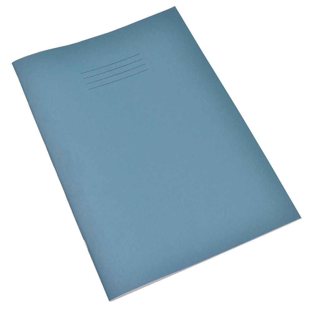 A4 48 Page Tinted Paper Exercise Books