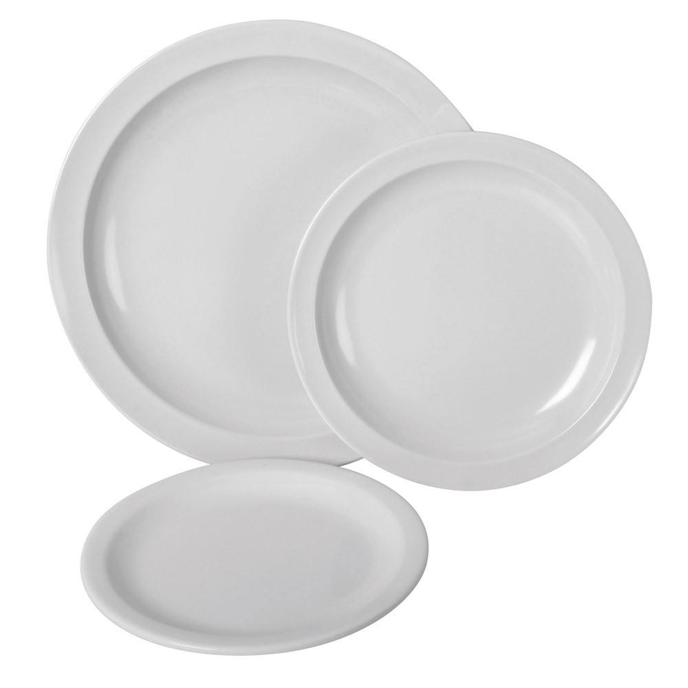 White Melamine Crockery