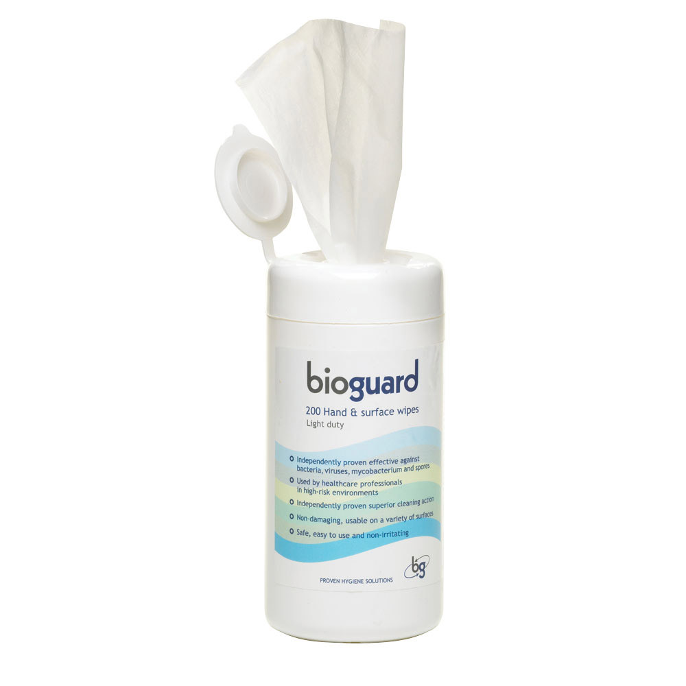 Alcohol-Free Light-Duty Hand & Surface Wipes