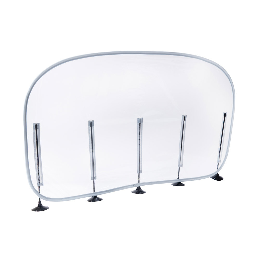 Social Distancing Transparent Desk Partition 10pk