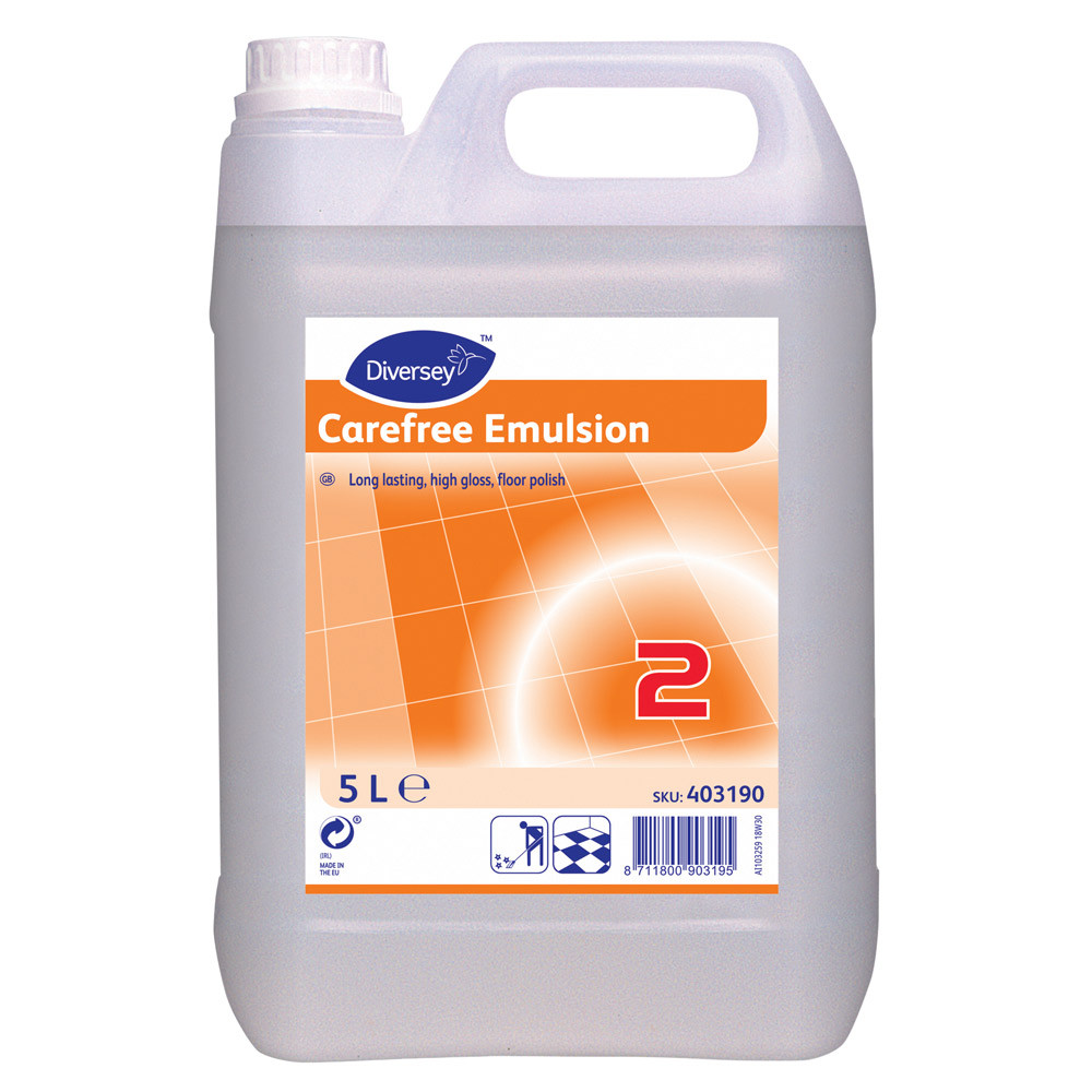 Carefree Emulsion High Gloss Floor Polish