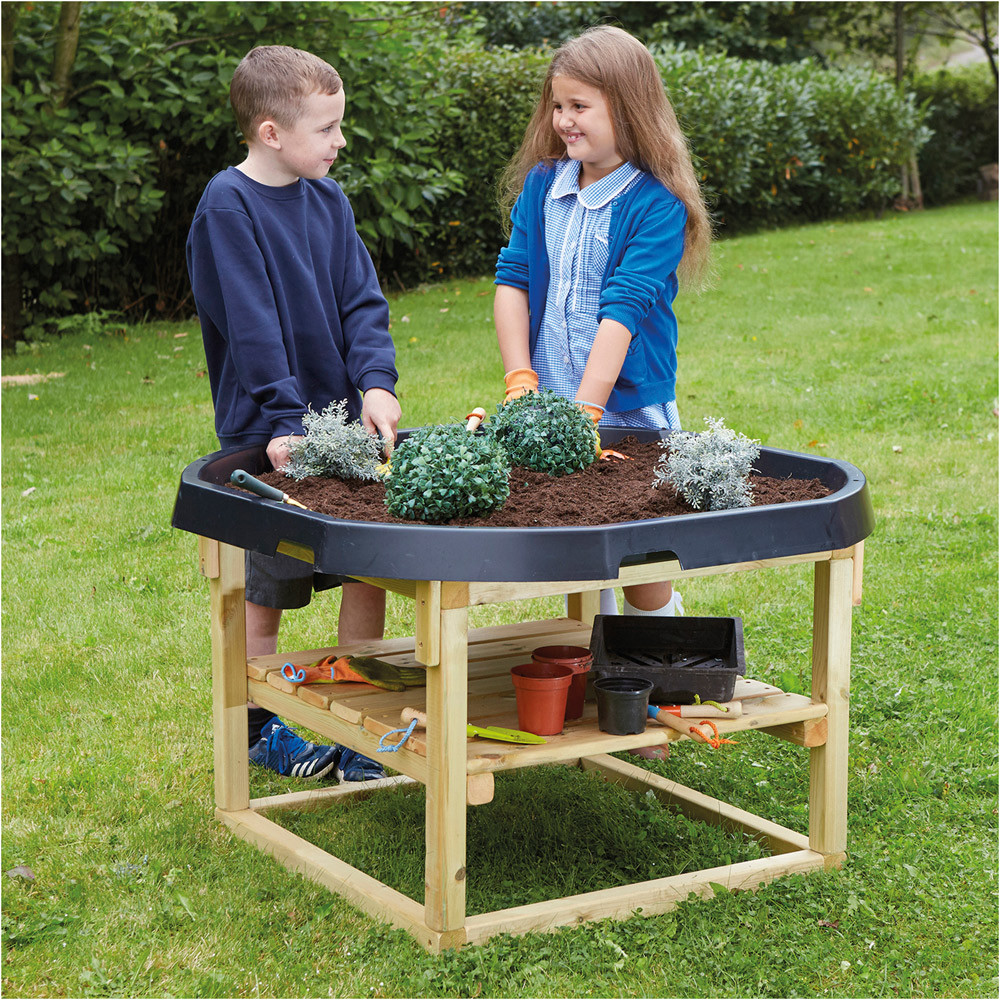 Wooden Active World Stand
