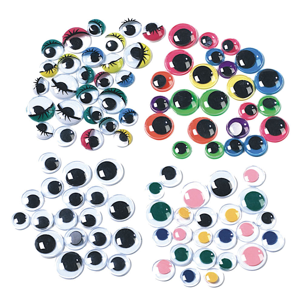 Wiggly Eyes Assorted Pack