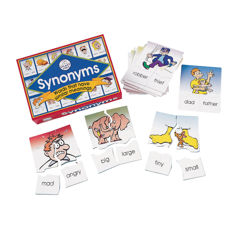 vocabulary games - synonyms - english vocabulary - literacy - curriculum resources