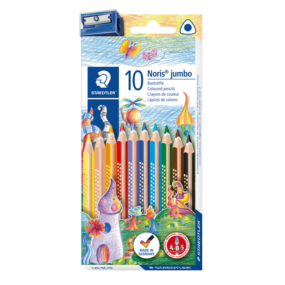 Staedtler Noris Jumbo Colouring Pencils