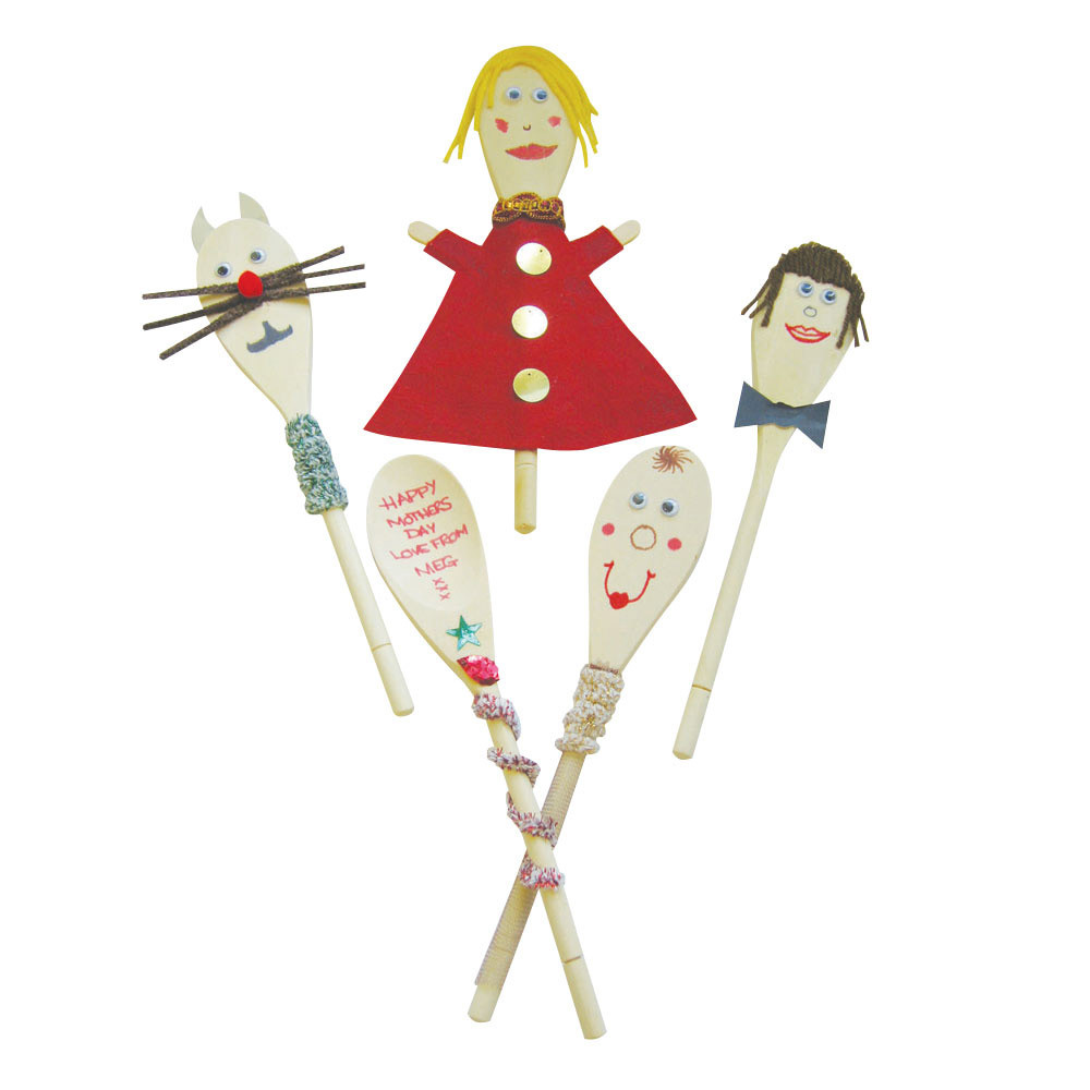 Creative Fun with Wooden Spoons