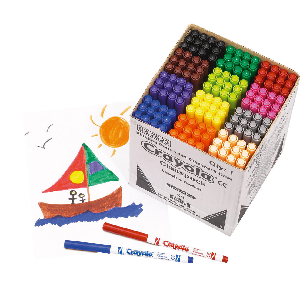 Crayola Supertips Colouring Pens