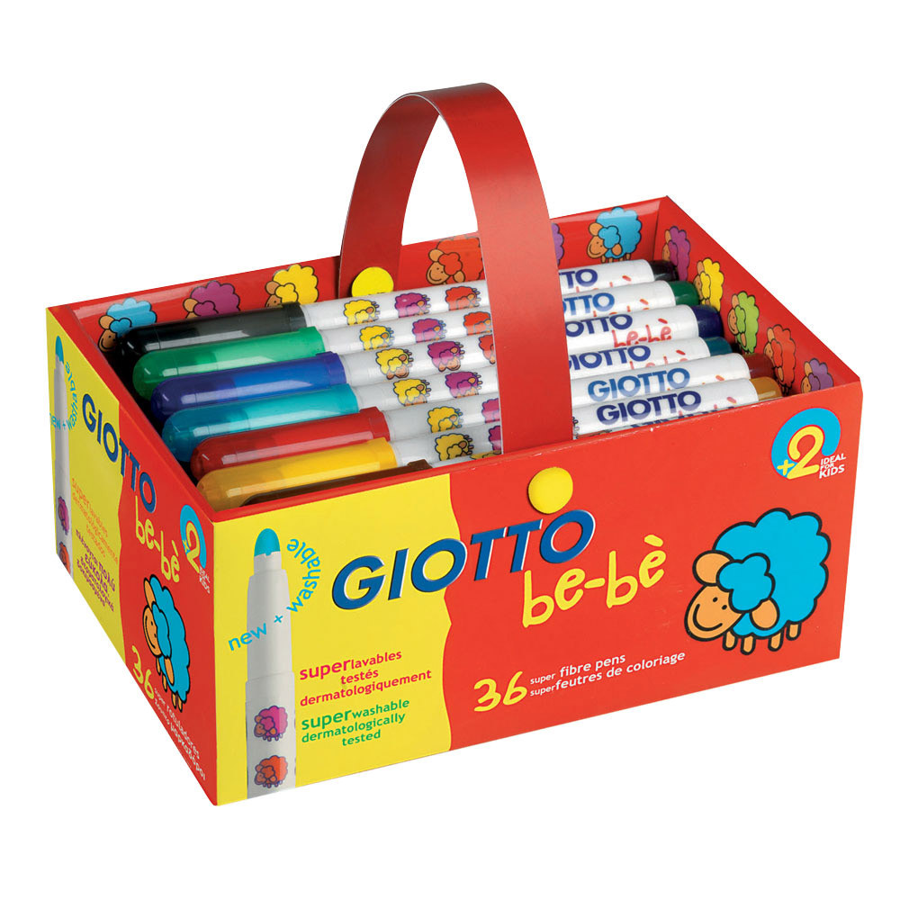 Giotto Be-Be Super Fibre Pens
