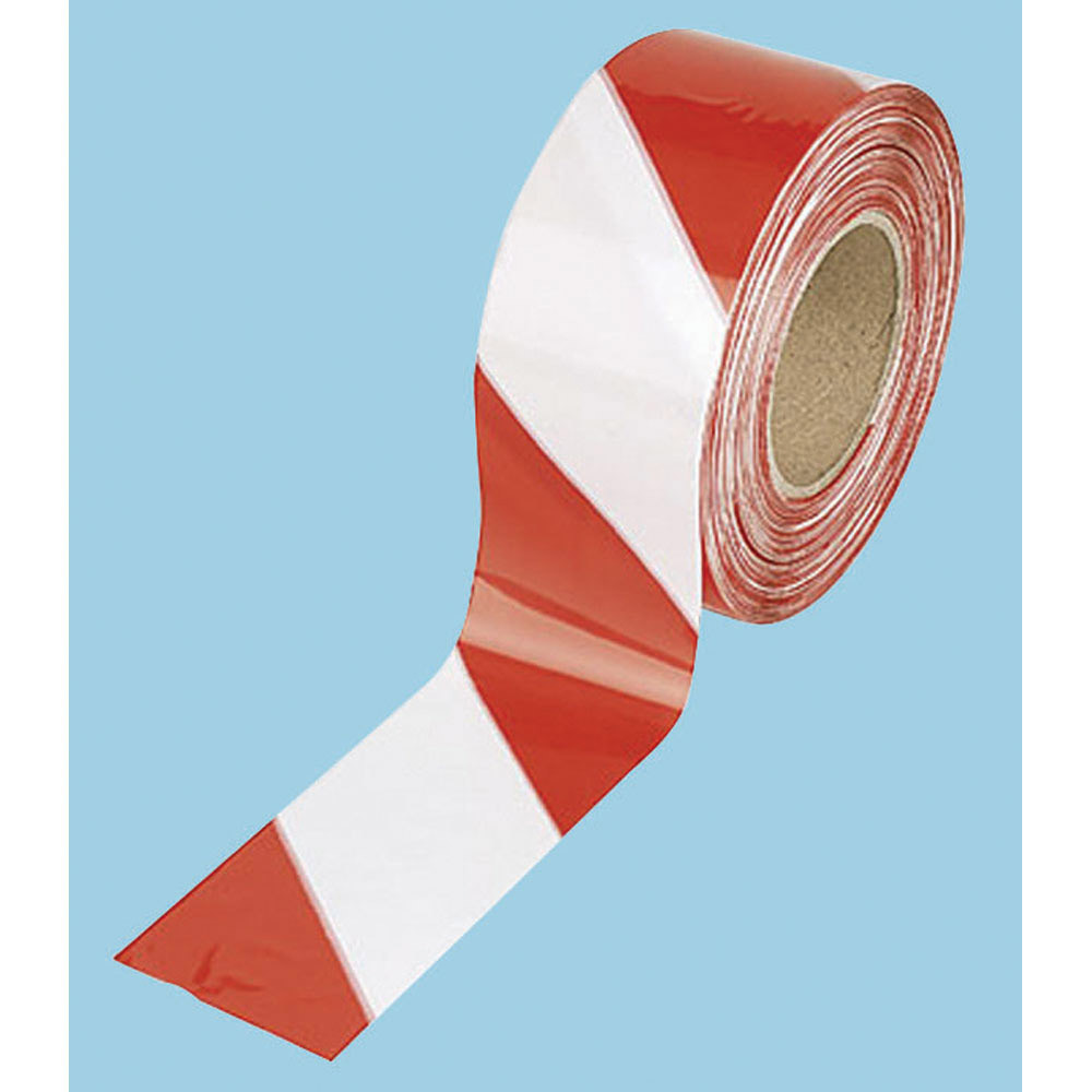 Barricade Tape Red White Security And Safety Hardware