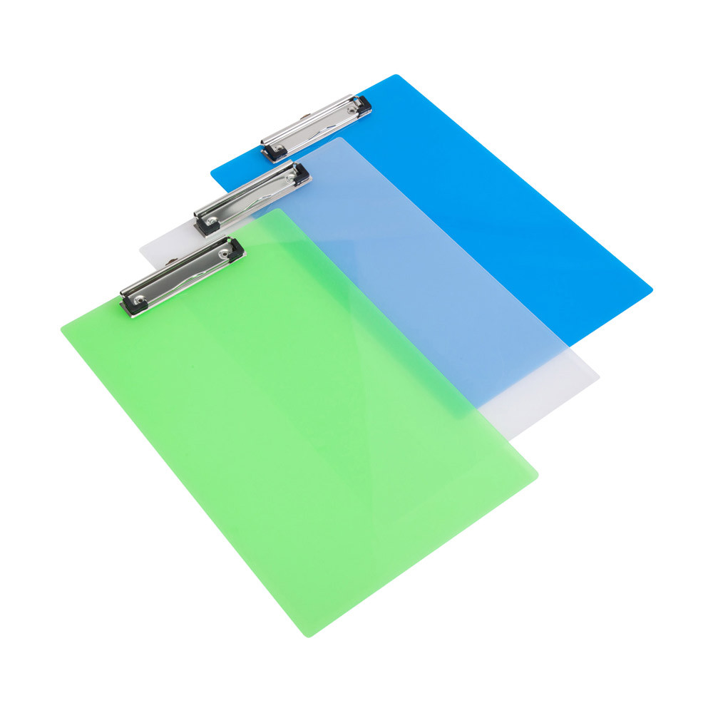 Frosted Transparent A4 Clipboard