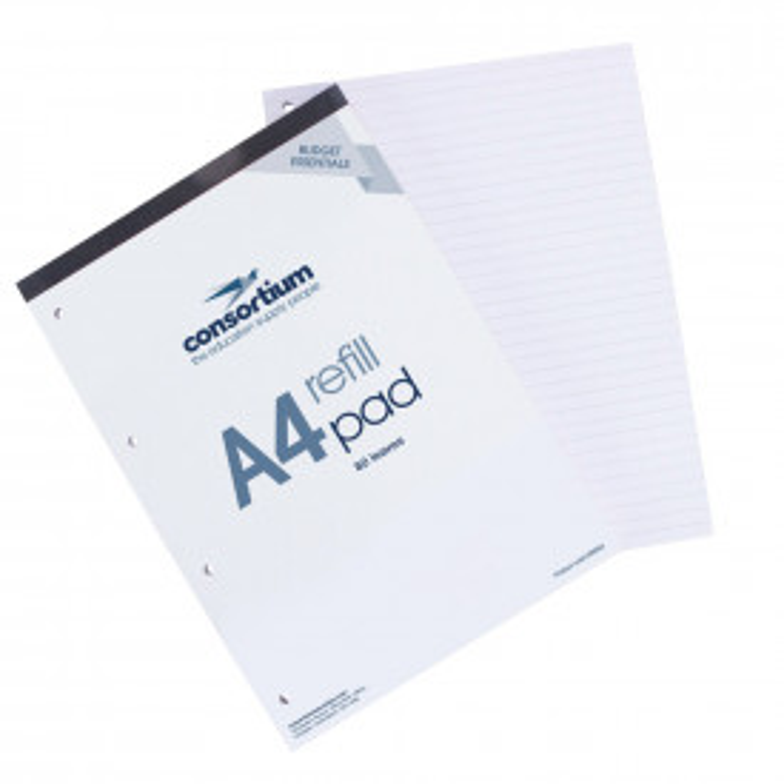 Budget Essentials A4 Headbound Refill Pads