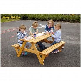 Large Infant Picnic Bench