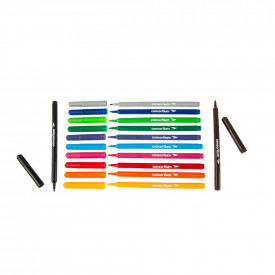 Budget Essentials Colouring Pens