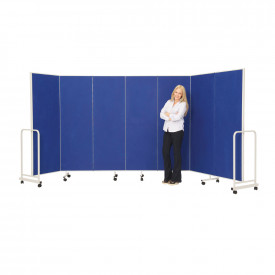 Sound Absorbing Mobile Partitioning