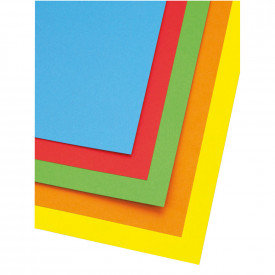 Medium Thick Board Mixed Bright Colours 520mm x 640mm