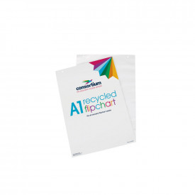 Consortium A1 Recycled Flipchart Pads