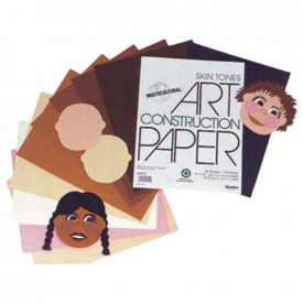 Multicultural Construction Paper Assortment