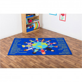 Multicultural Welcome Carpet