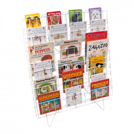 Single Floor Standing Book Rack