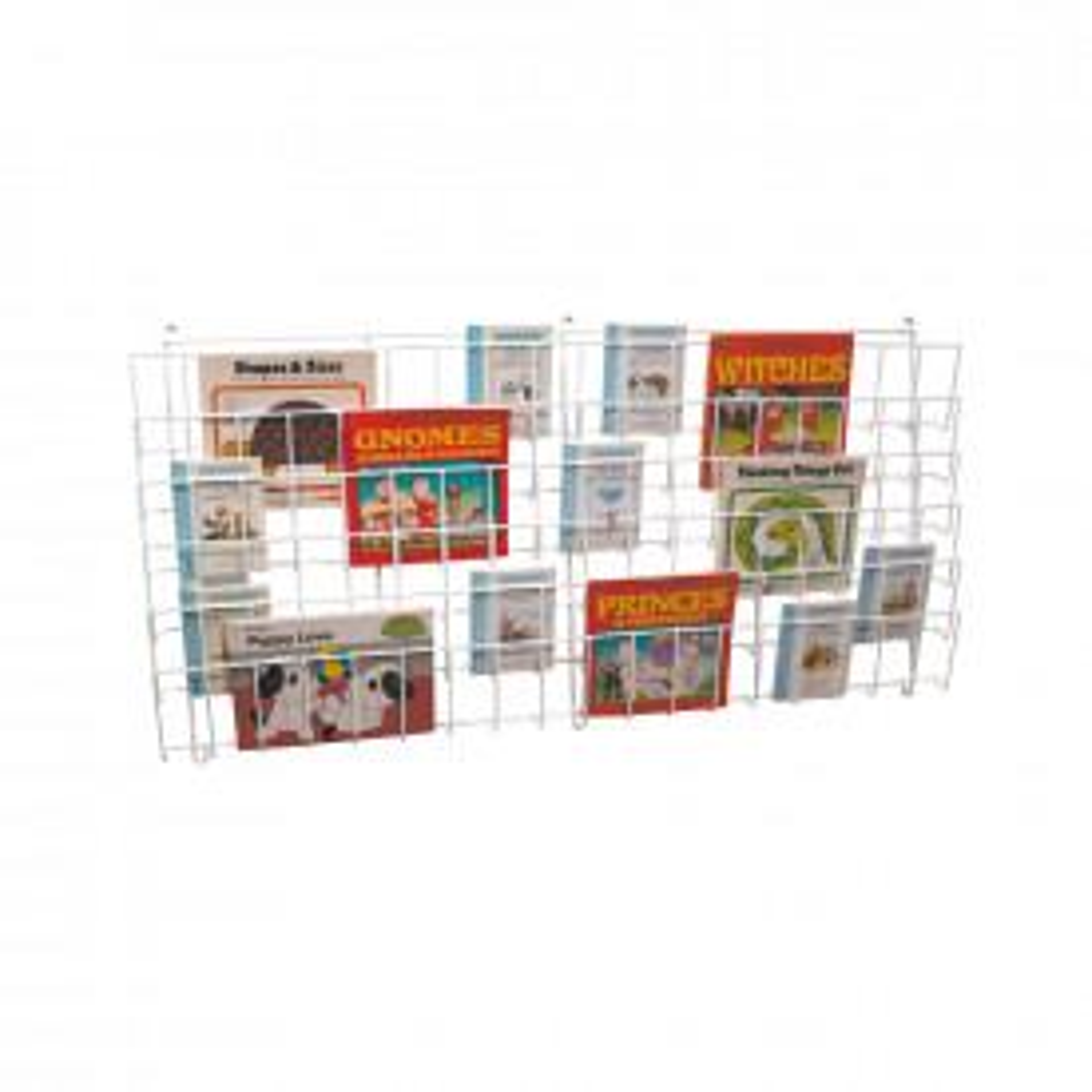 Horizontal Wall Book Rack