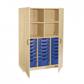 Tall Tray Shelf Cupboard