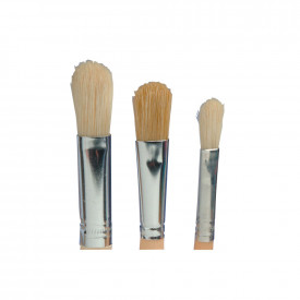 Filbert Hog Hair Long Handle Brushes