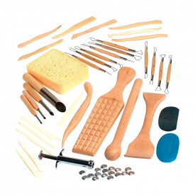 Pottery and Modelling Tools Classpack