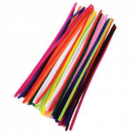 Straight Chenille Pipe Cleaners