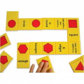 Giant Shape and Number Dominoes