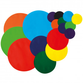 Gummed Paper Circles Assortment