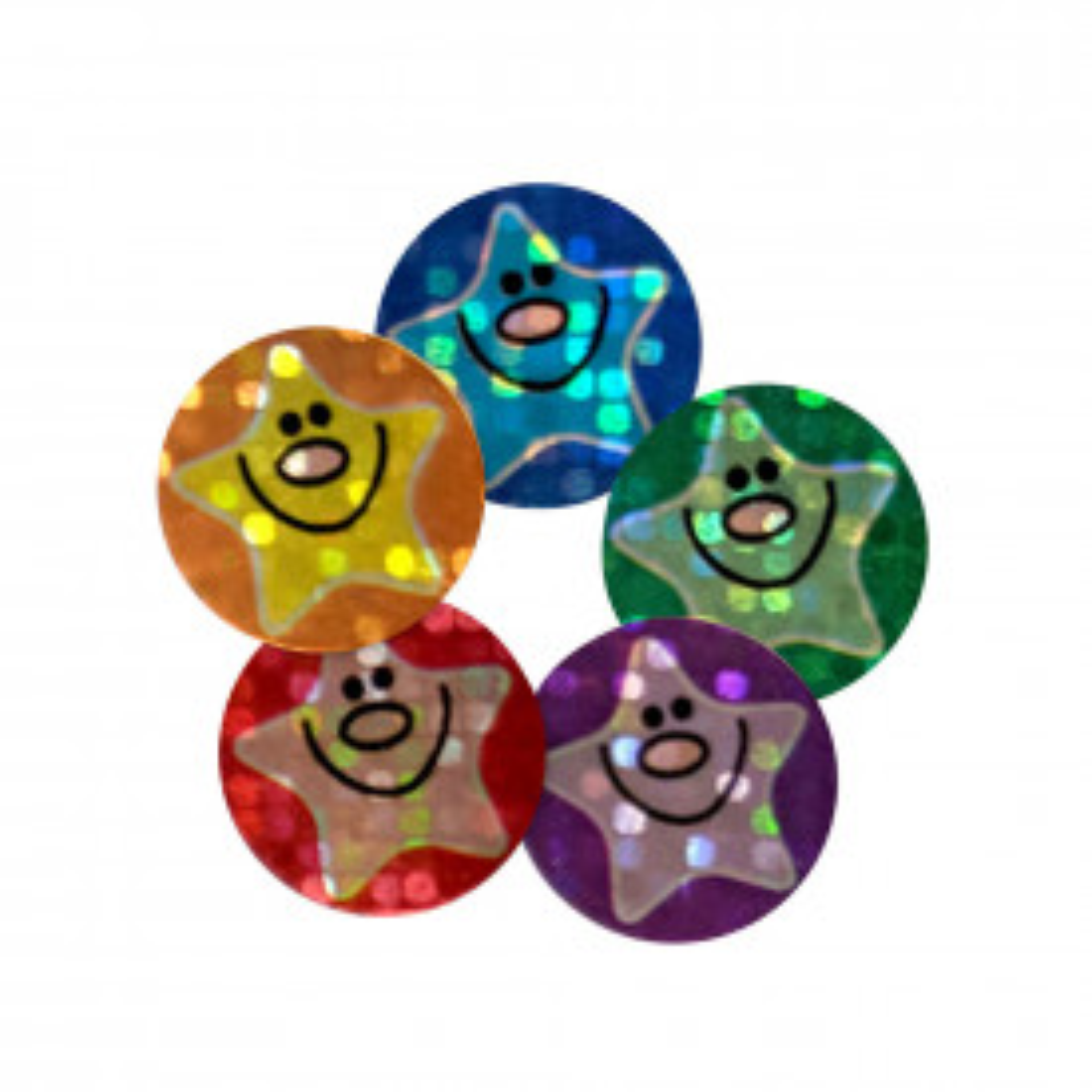 Sparkly Star Stickers
