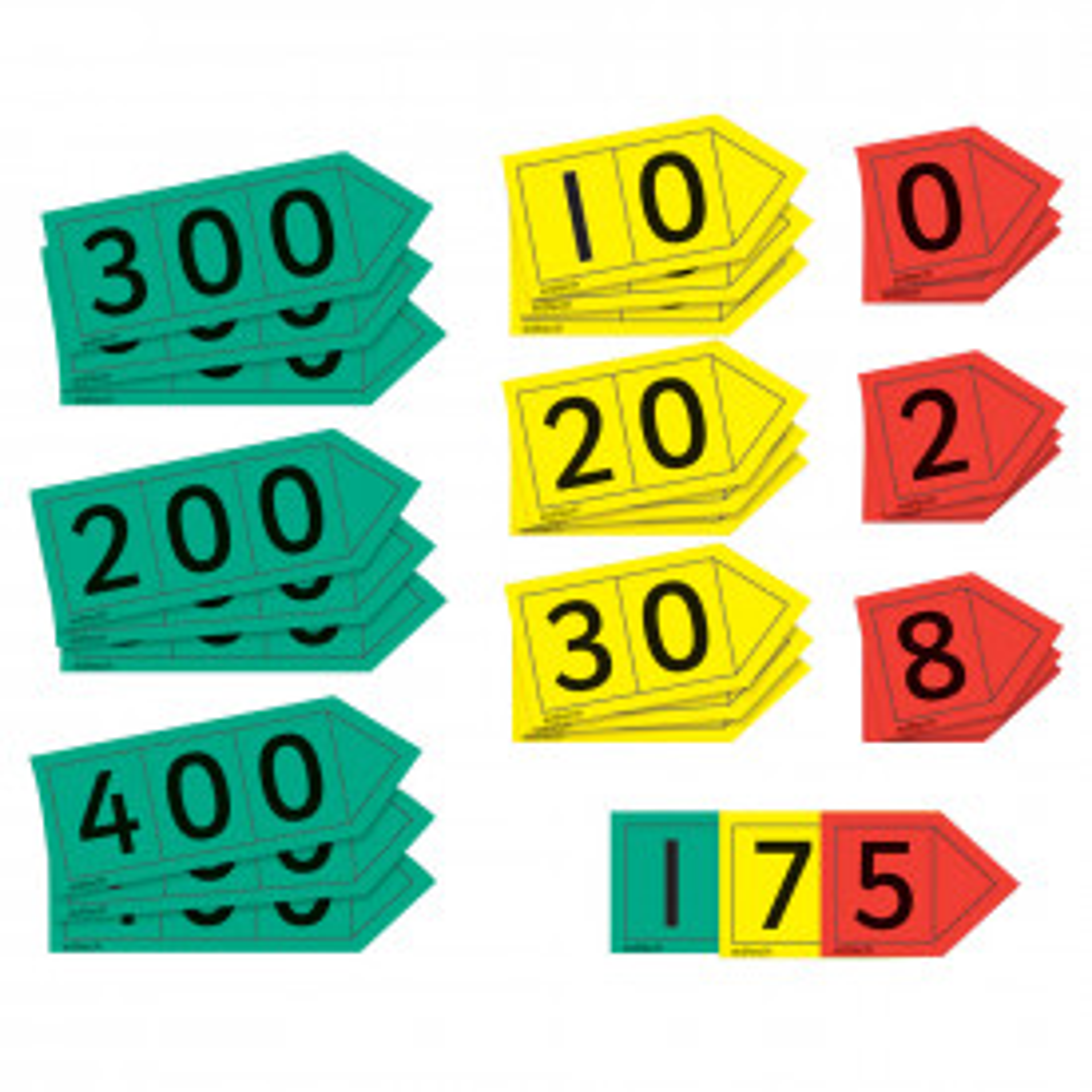 Teacher Place Value Arrows