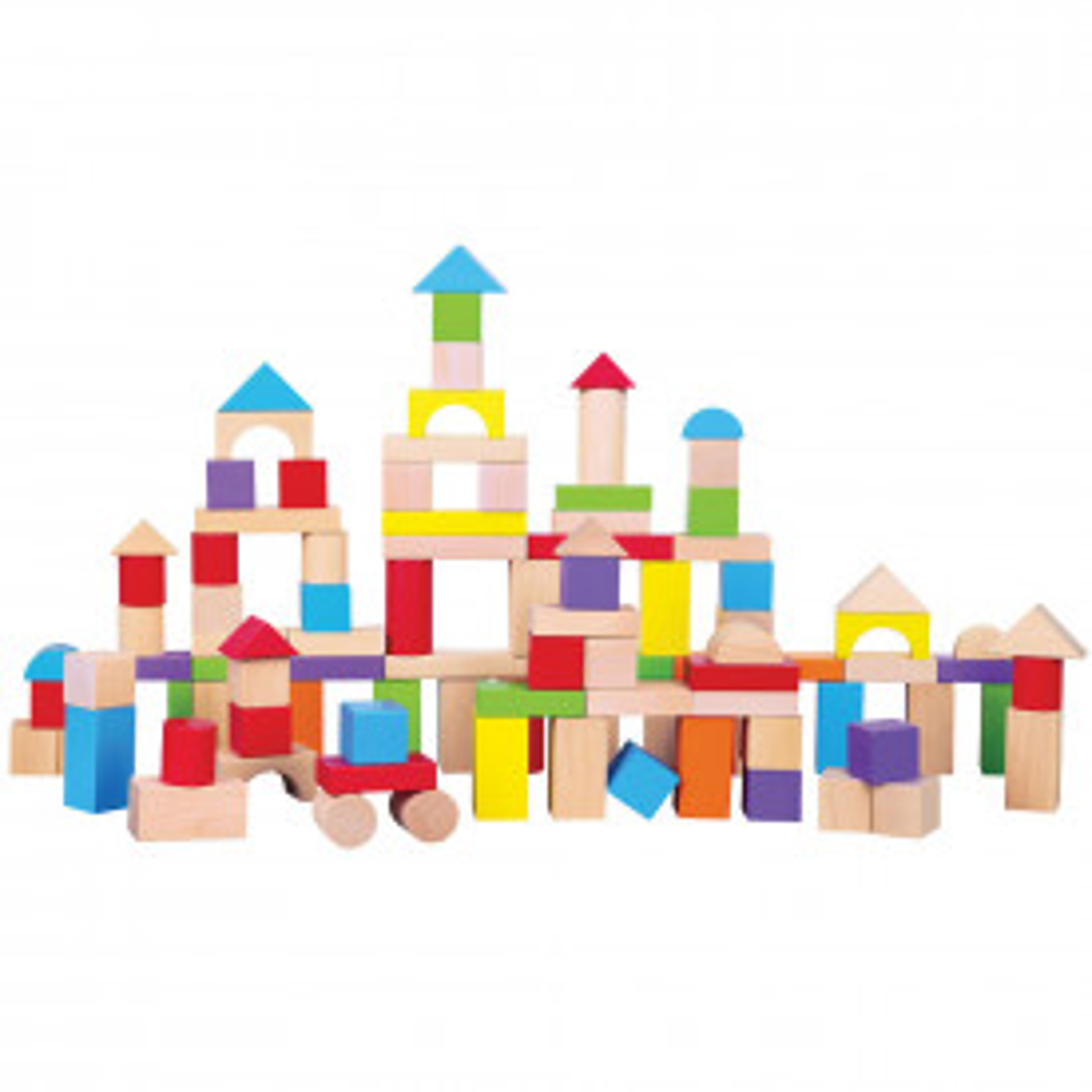 Coloured Building Blocks