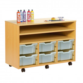 Combination Tray and Shelf Units