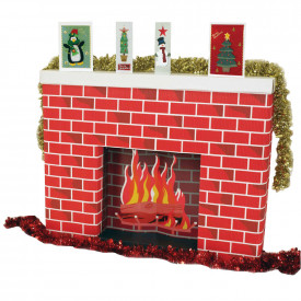 Corobuff® Fireplace