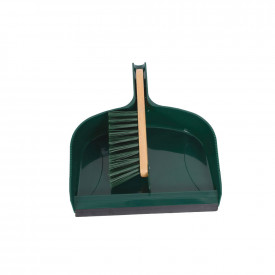 Large Heavy-Duty Dustpan & Brush Set