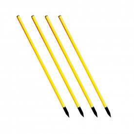 Slalom Training Poles with Bag 12pk