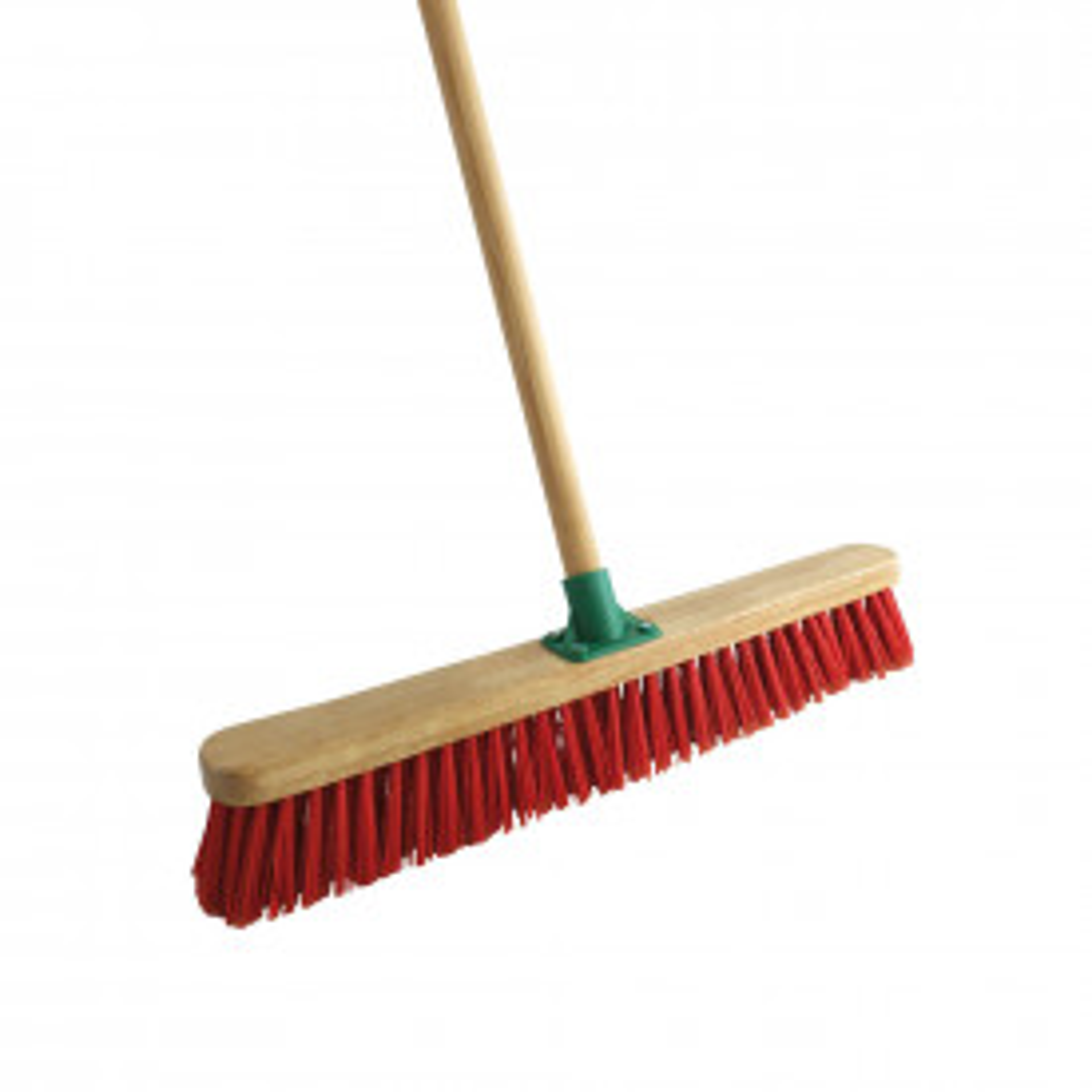 Stiff Red PVC Broom