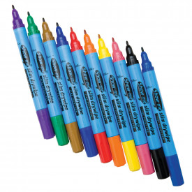 Show-me® Fine Tip Assorted Colours Drywipe Pens