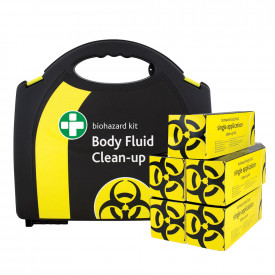 Biohazard Spillage Clean-Up Kits