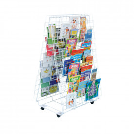 Double Sided Mobile Book Stand