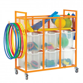 Coloured Sports Trolleys