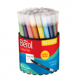 Berol Colourfine Pens Pk42