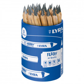 Lyra Half Length Graphite Pencils