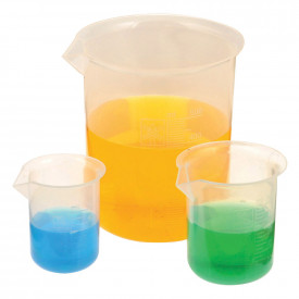 Plastic Measurement Beakers