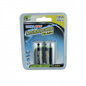 Ultra Max Premium Rechargeable - C Cell