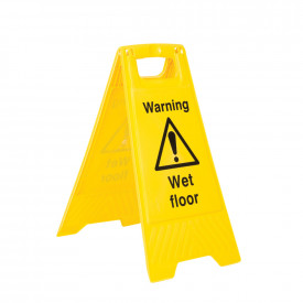 Caution Wet Floor - Floor Stand