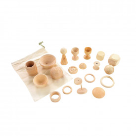 Wooden Collection for Treasure Basket