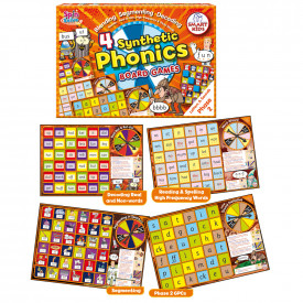 Phase Board Games - Letters and Sounds Series